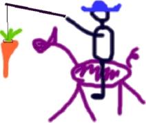 Die Karotte des Lebens...